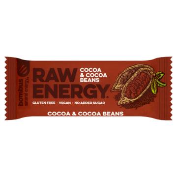 BOMBUS RAW ENERGY Baton ziarna kakaowca (bezglutenowy) 50g