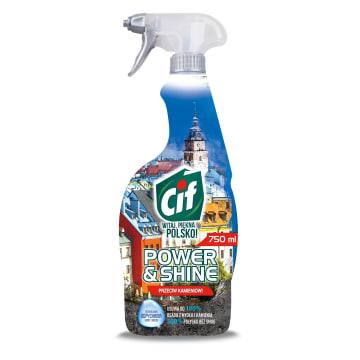 Płyn do czyszczenia w sprayu – Cif zawiera Turbo Formułę, która skutecznie usuwa kamień.