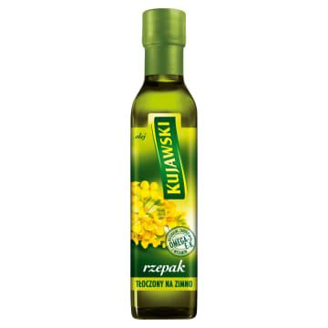 KUJAWSKI Olej rzepakowy tłoczony na zimno 250ml