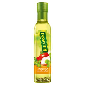 KUJAWSKI Ze smakiem Olej rzepakowy z oregano, pomidorami i cebulą 250ml