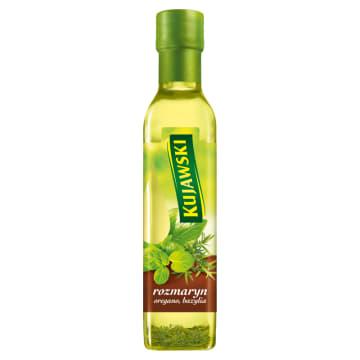 KUJAWSKI Ze smakiem Olej rzepakowy z rozmarynem, oregano i bazylią 250ml