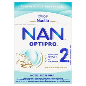 Mleko dla niemowląt Nan Pro 2 - Nestle. Bezpieczny rozwój Twojego dziecka.
