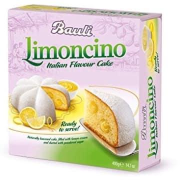 BAULI Ciasto włoskie Limoncino z kremem cytrynowym 400g