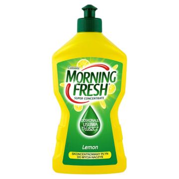Płyn do mycia naczyń - MORNING FRESH. Cytrynowy aromat i niezwykła skuteczność.