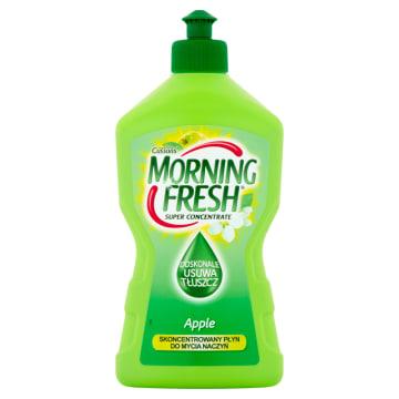 Płyn do mycia naczyń Morning Fresh  jabłkowy jest szczególnie skuteczny i przyjemnie pachnie.