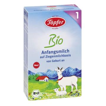 TOPFER Mleko kozie początkowe 1 BIO 400g