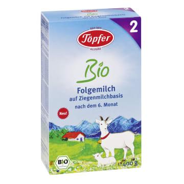 TOPFER Mleko kozie następne 2 po 6 miesiącu BIO 400g