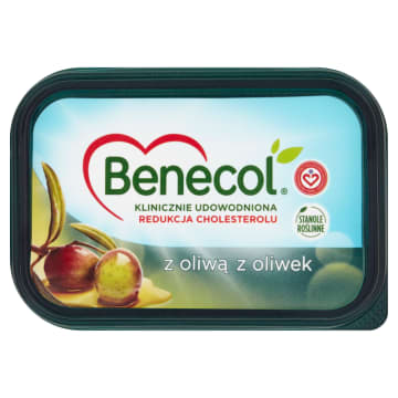 Benecol - Margaryna z oliwą z oliwek to zdrowa alternatywa dla tradycyjnej margaryny.