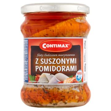 CONTIMAX Filety śledziowe z suszonymi pomidorami 400g