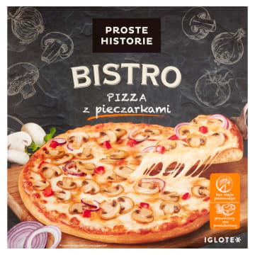 PROSTE HISTORIE BISTRO Pizza z pieczarkami 415g