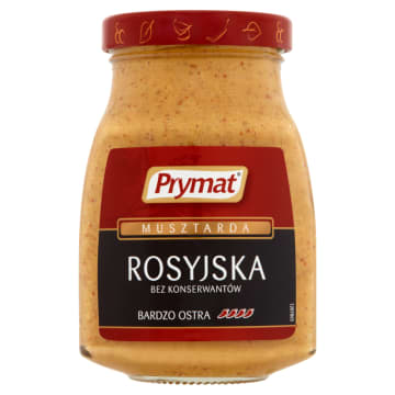 PRYMAT Musztarda rosyjska 185g