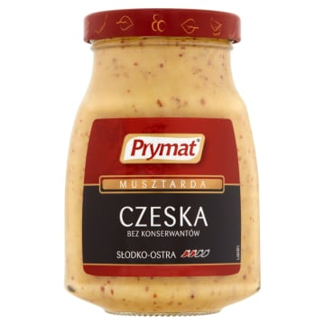 PRYMAT Musztarda czeska 180g