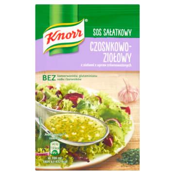 KNORR Sos sałatkowy czosnkowo-ziołowy 8g