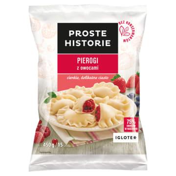 PROSTE HISTORIE Pierogi z owocami 450g
