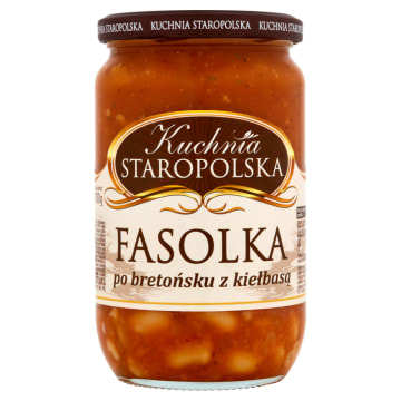 Fasolka po bretońsku - Kuchnia Staropolska. Pyszne i proste danie dla całej rodziny.