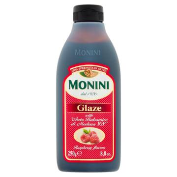 Krem z octu balsamicznego o smaku malin - Monini. Wyjątkowe połączenie balsamico i malin.