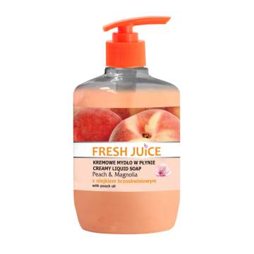 FRESH JUICE Kremowe mydło w płynie Brzoskwinia & Magnolia 460ml
