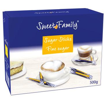 SWEET FAMILY Cukier biały (saszetki) 500g