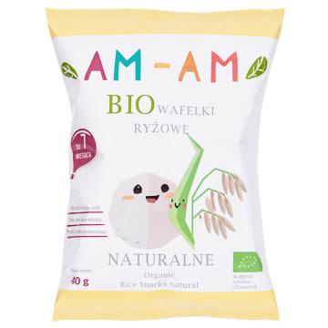 AM-AM Wafelki ryżowe bezglutenowe BIO 40g