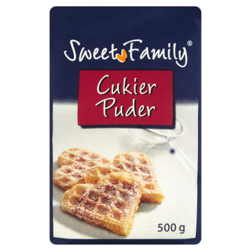 SWEET FAMILY Cukier puder 500g