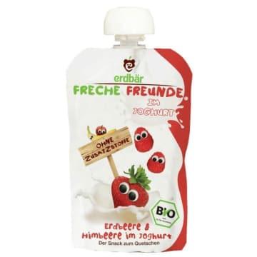 ERDBAR Jogurt truskawka i malina BIO 100g