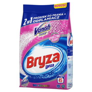 BRYZA Vanish Ultra 2w1 Proszek do prania tkanin kolorowych i odplamiacz 3.375kg