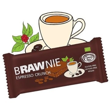 BRAWNIE Baton Espresso Crunch BIO 45g