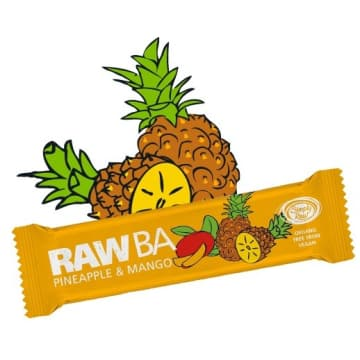 RAW BA Baton Ananas&Mango BIO 40g