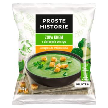 PROSTE HISTORIE Zupa krem z zielonych warzyw 450g