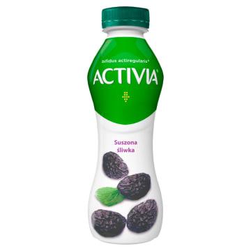 Jogurt suszona śliwka - Danone. Dla osób z problemami trawiennymi i nie tylko.