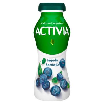 Danone Activia Jogurt Jagoda Borówka amerykańska dzięki kulturom Acti Regularis wspiera pracę jelit.