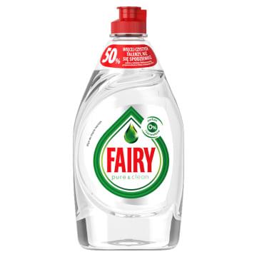 FAIRY Pure & Clean Płyn do mycia naczyń 450ml