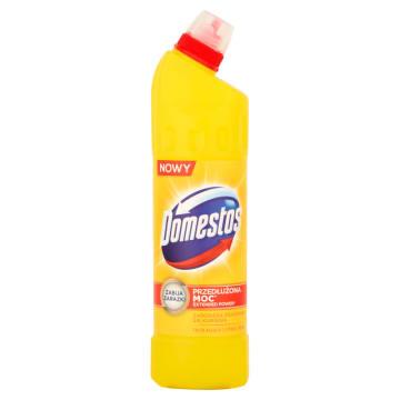Płyn do dezynfekcji - Domestos. Skutecznie usuwa wszelkie zarazki.