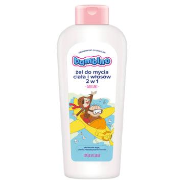 BAMBINO Żel do mycia ciała i włosów Kowboje 400ml