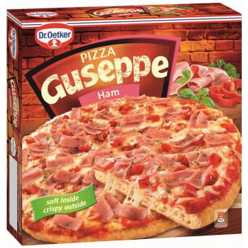 Mrożona pizza z szynką - Dr. Oetker Guseppe. Idealna harmonia smaku i aromatu.