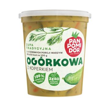 PAN POMIDOR Ogórkowa z koperkiem  Zupa tradycyjna 400g
