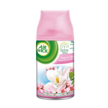 AIR WICK Odświeżacz powietrza wkład Magnolia i Kwiat Wiśni 250ml