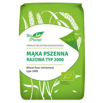 BIO PLANET M±ka pszenna razowa (typ 2000) BIO