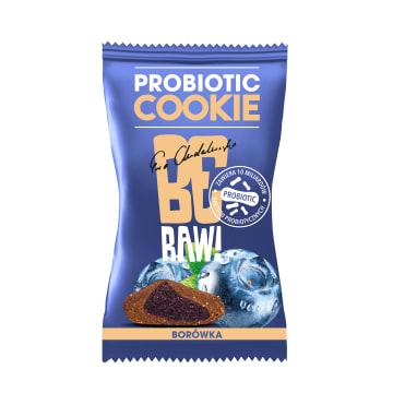 BE RAW! Probiotic Cookie Borówka