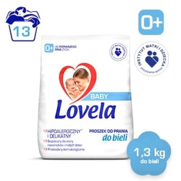 LOVELA Baby Hipoalergiczny proszek do prania bia³ego dla dzieci (13 prañ)