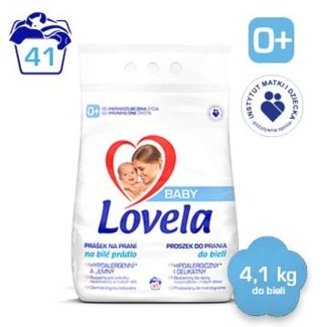 LOVELA Baby Hipoalergiczny proszek do prania bia³ego dla dzieci (41 prañ)