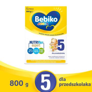 BEBIKO Junior 5 Mleko modyfikowane dla dzieci ju¿ od 2,5 roku ¿ycia