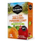 SADY WINCENTA Sok jabłko - pomarańcza w kartonie tłoczony 3l