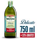 MONINI Delicato Oliwa z oliwek Extra Vergine 750ml + 33% Gratis 1l
