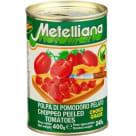 METELLIANA Pomidory krojone (bez skórki) 400g