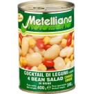 METELLIANA Mieszanka 4 odmian fasoli 400g