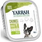 YARRAH Pokarm dla psa - kawałki kurczaka z warzywami BIO 150g