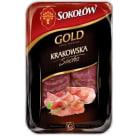 SOKOŁÓW Gold Kiełbasa krakowska sucha - plastry 100g