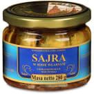 PETROPAT Sajra w sosie własnym z dodatkiem oleju roślinnego 280g