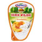 PIĄTNICA Serek wiejski z brzoskwinią 150g